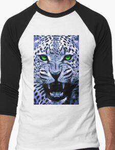 Look into my green eyes Men's Baseball ¾ T-Shirt