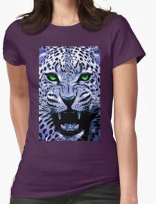 Look into my green eyes Womens Fitted T-Shirt