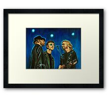 Bee Gees Framed Print