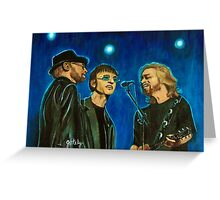Bee Gees Greeting Card
