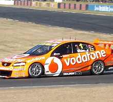 Qld Raceway 2012 V8 Supercars Jamie Whincup by davidstorey
