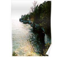 Green Bay, WI: Lake Michigan in April 2 Poster