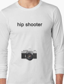 Digital camera isolated on white background DSLR on T-Shirt Long Sleeve T-Shirt