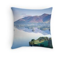 Skiddaw from Surprise View Throw Pillow