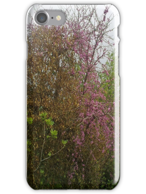 Colours Of A Cloudy Spring iPhone Case by Random Artist No. 2