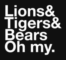 Lions&Tigers&Bears Kids Tee