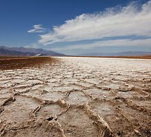Devil's Speedway, Badwater Basin, Death Valley by Martin Lawrence
