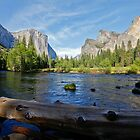 El Capitan and Cathedral Rock, Yosemite National Park by Martin Lawrence