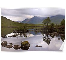 Lochan na h'Achlaise Poster