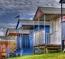 Beach Huts by timpr
