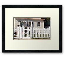 Little House Facade Framed Print