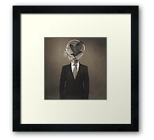 Open Your Mind Framed Print