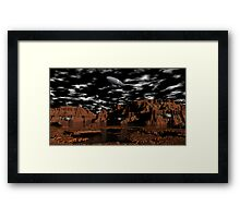 Once Upon A Time on Mars Framed Print