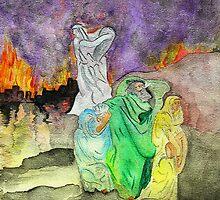 Sodom & Gomorrah Burns by Anne Gitto