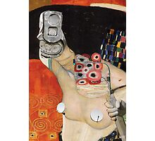 Klimt´s Judy Collage 1 Photographic Print