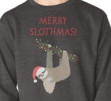 Merry Slothmas - Funny Sloth Christmas - Christmas Sloth - Animal Christmas Pullover