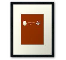 Anti-abortion personhood bill Romney Ryan 2012 Framed Print