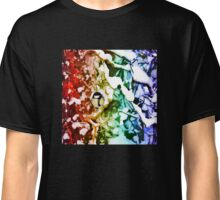Winter wonderland kaleidoscope Classic T-Shirt
