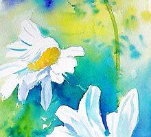 Tall Daisies by Ruth S Harris