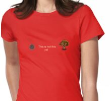 Anti-abortion egg personhood bill Romney Ryan 2012 Womens Fitted T-Shirt