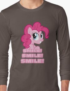 Pinkie Pie - Smile! Smile! Smile! (My Little Pony: Friendship is Magic) Long Sleeve T-Shirt