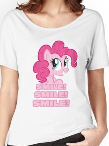 Pinkie Pie - Smile! Smile! Smile! (My Little Pony: Friendship is Magic) Women's Relaxed Fit T-Shirt
