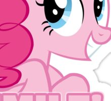 Pinkie Pie - Smile! Smile! Smile! (My Little Pony: Friendship is Magic) Sticker