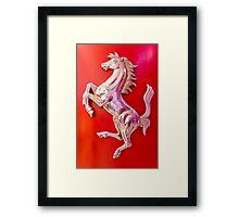 Cavallino Rampante Framed Print