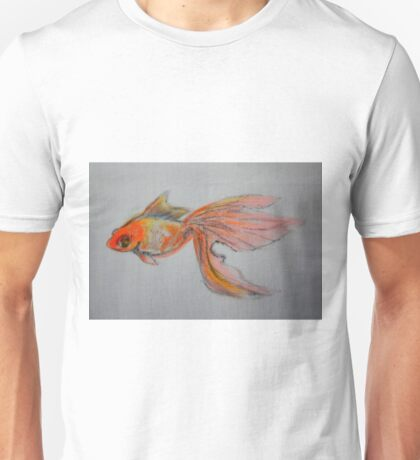 Goldfish Pond ( close up #9) Unisex T-Shirt