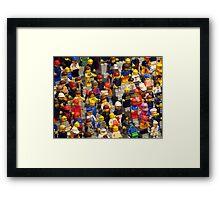 Mini-Olympics Framed Print