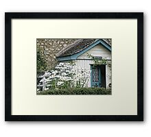 Country Cottage.....Devon UK Framed Print