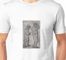 A Man Looks Up Unisex T-Shirt