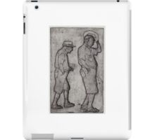 A Man Looks Up iPad Case/Skin