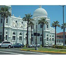 Galveston Texas White Mansion Photographic Print