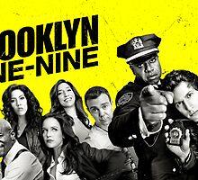 Brooklyn 99 Nine  by Annabel Davies