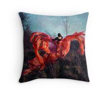 the phoenix hope; Throw Pillow