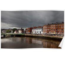 Clouds over Cork Poster