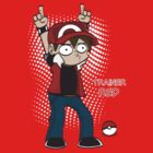 Trainer Red T-Shirt by Fenx