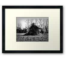 Forgotten and Lonely Framed Print