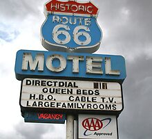 Arizona Route 66 Motel Seligman by albyw