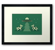 Merry Abduction Framed Print