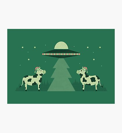 Merry Abduction Photographic Print