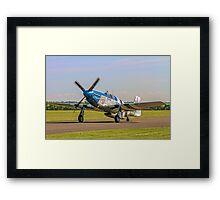 P-51C Mustang 43-25147 NL487FS  Framed Print