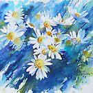 Daisies are our Silver by artbyrachel