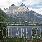 Psalm 90:2 Torres del Paine by FathersWorld