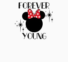 Forever Young Minnie Mouse Women's Relaxed Fit T-Shirt