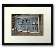Awesome Paint Art Framed Print