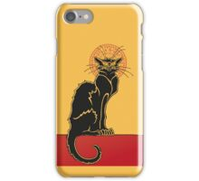 Tournée du Chat Noir - The Black Cat Tour (v2) iPhone Case/Skin
