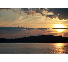 Sleepy Hollow Sun Photographic Print