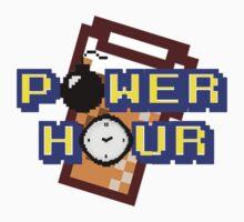 8-Bit Power Hour Kids Tee